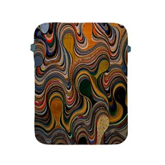 Swirl Colour Design Color Texture Apple Ipad 2/3/4 Protective Soft Cases by Simbadda