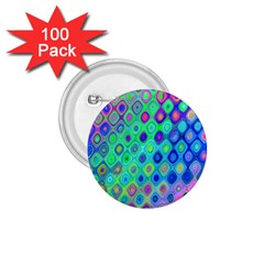 Background Texture Pattern Colorful 1 75  Buttons (100 Pack)