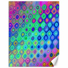 Background Texture Pattern Colorful Canvas 12  X 16   by Simbadda