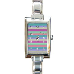 Backgrounds Pattern Lines Wall Rectangle Italian Charm Watch by Simbadda