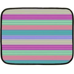 Backgrounds Pattern Lines Wall Double Sided Fleece Blanket (mini)