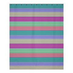 Backgrounds Pattern Lines Wall Shower Curtain 60  X 72  (medium)