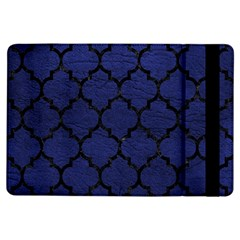 Tile1 Black Marble & Blue Leather (r) Apple Ipad Air Flip Case by trendistuff