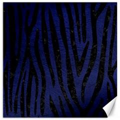 SKN4 BK-MRBL BL-LTHR Canvas 16  x 16   by trendistuff