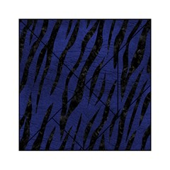 Skin3 Black Marble & Blue Leather (r) Acrylic Tangram Puzzle (6  X 6 ) by trendistuff