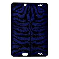Skin2 Black Marble & Blue Leather (r) Amazon Kindle Fire Hd (2013) Hardshell Case by trendistuff