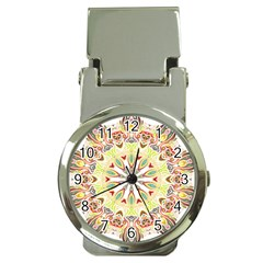 Intricate Flower Star Money Clip Watches by Alisyart