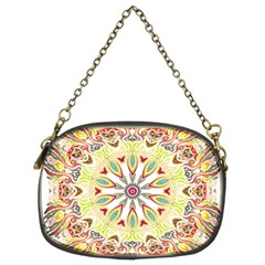 Intricate Flower Star Chain Purses (two Sides)  by Alisyart