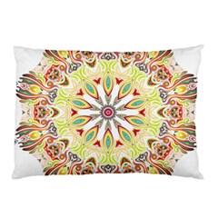 Intricate Flower Star Pillow Case