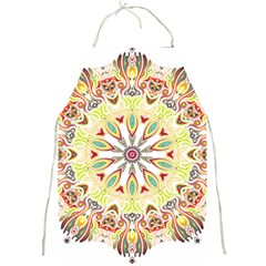 Intricate Flower Star Full Print Aprons