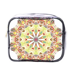 Intricate Flower Star Mini Toiletries Bags