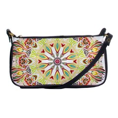 Intricate Flower Star Shoulder Clutch Bags