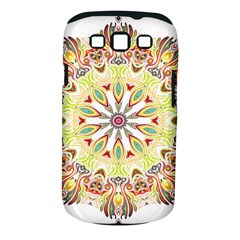 Intricate Flower Star Samsung Galaxy S Iii Classic Hardshell Case (pc+silicone) by Alisyart