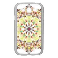 Intricate Flower Star Samsung Galaxy Grand Duos I9082 Case (white) by Alisyart