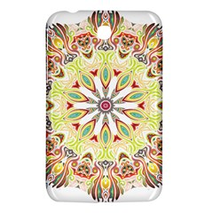 Intricate Flower Star Samsung Galaxy Tab 3 (7 ) P3200 Hardshell Case  by Alisyart