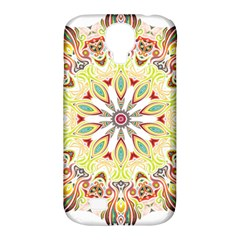 Intricate Flower Star Samsung Galaxy S4 Classic Hardshell Case (pc+silicone)