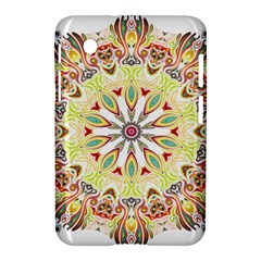 Intricate Flower Star Samsung Galaxy Tab 2 (7 ) P3100 Hardshell Case
