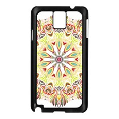 Intricate Flower Star Samsung Galaxy Note 3 N9005 Case (black)
