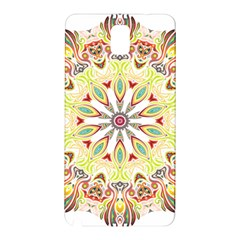 Intricate Flower Star Samsung Galaxy Note 3 N9005 Hardshell Back Case