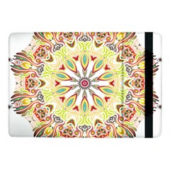Intricate Flower Star Samsung Galaxy Tab Pro 10 1  Flip Case by Alisyart