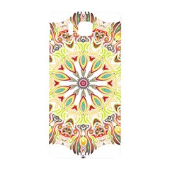 Intricate Flower Star Samsung Galaxy Alpha Hardshell Back Case