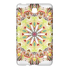 Intricate Flower Star Samsung Galaxy Tab 4 (7 ) Hardshell Case
