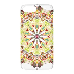 Intricate Flower Star Apple Iphone 7 Plus Hardshell Case by Alisyart