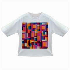 Abstract Background Geometry Blocks Infant/toddler T Shirts by Simbadda