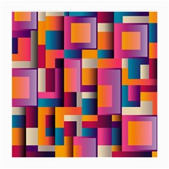 Abstract Background Geometry Blocks Medium Glasses Cloth by Simbadda
