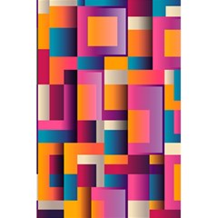 Abstract Background Geometry Blocks 5 5  X 8 5  Notebooks by Simbadda