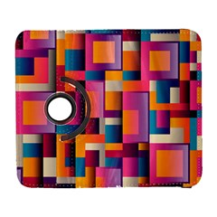 Abstract Background Geometry Blocks Galaxy S3 (flip/folio) by Simbadda