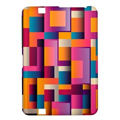 Abstract Background Geometry Blocks Kindle Fire Hd 8 9  by Simbadda