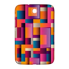 Abstract Background Geometry Blocks Samsung Galaxy Note 8 0 N5100 Hardshell Case  by Simbadda