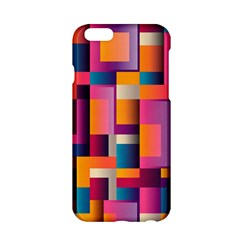 Abstract Background Geometry Blocks Apple Iphone 6/6s Hardshell Case by Simbadda