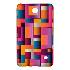 Abstract Background Geometry Blocks Samsung Galaxy Tab 4 (7 ) Hardshell Case  by Simbadda