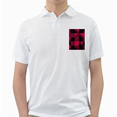 Cube Square Block Shape Creative Golf Shirts by Simbadda
