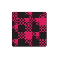 Cube Square Block Shape Creative Square Magnet by Simbadda