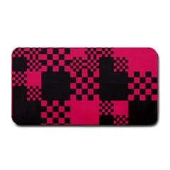 Cube Square Block Shape Creative Medium Bar Mats by Simbadda