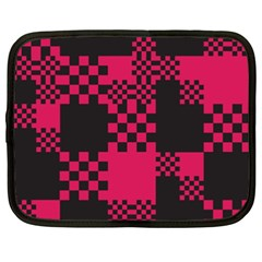 Cube Square Block Shape Creative Netbook Case (xxl)  by Simbadda