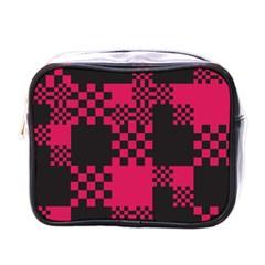 Cube Square Block Shape Creative Mini Toiletries Bags by Simbadda