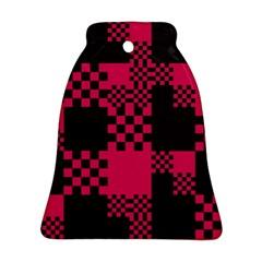 Cube Square Block Shape Creative Ornament (bell) by Simbadda