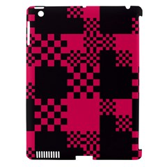 Cube Square Block Shape Creative Apple Ipad 3/4 Hardshell Case (compatible With Smart Cover) by Simbadda
