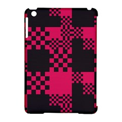 Cube Square Block Shape Creative Apple Ipad Mini Hardshell Case (compatible With Smart Cover) by Simbadda