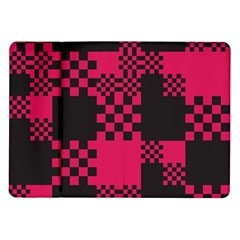 Cube Square Block Shape Creative Samsung Galaxy Tab 10 1  P7500 Flip Case by Simbadda