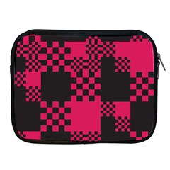 Cube Square Block Shape Creative Apple Ipad 2/3/4 Zipper Cases by Simbadda