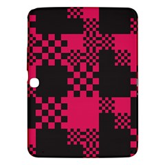 Cube Square Block Shape Creative Samsung Galaxy Tab 3 (10 1 ) P5200 Hardshell Case  by Simbadda