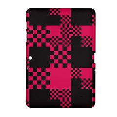 Cube Square Block Shape Creative Samsung Galaxy Tab 2 (10 1 ) P5100 Hardshell Case  by Simbadda