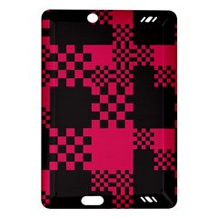 Cube Square Block Shape Creative Amazon Kindle Fire Hd (2013) Hardshell Case by Simbadda