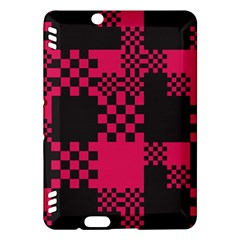 Cube Square Block Shape Creative Kindle Fire Hdx Hardshell Case by Simbadda