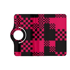 Cube Square Block Shape Creative Kindle Fire Hd (2013) Flip 360 Case by Simbadda